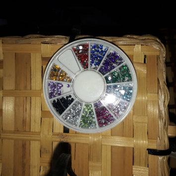 Photo of Bundle Monster 5 Nail Art Manicure Wheels W 3D Designs Glitters Rhinestones Beads uploaded by NAOMI H.
