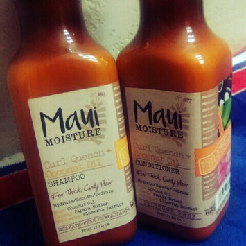 Photo of Maui Moisture Curl Quench + Coconut Oil Shampoo uploaded by Savannah H.
