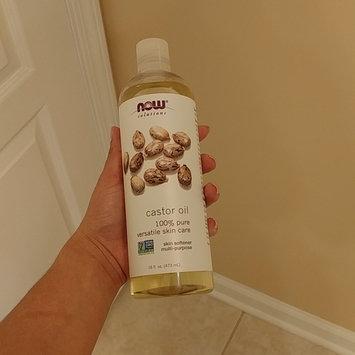 Photo of NOW Foods Solutions Castor Oil - 16 fl oz uploaded by Lisyet T.