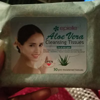Epielle 30 pre-moistened Green Tea Cleansing Tissues uploaded by Toni Marie D.