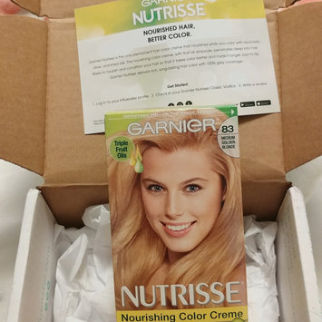 Photo of Garnier Nutrisse Nourishing Color Creme uploaded by Ashley F.
