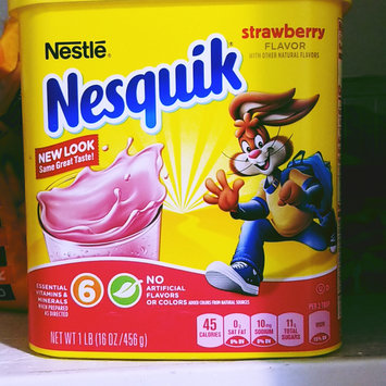 Photo of Nesquik® Strawberry Flavor Powder uploaded by miss R.