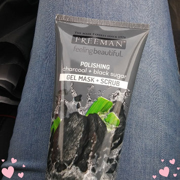 Photo of Freeman Feeling Beautiful™ Polishing Charcoal & Black Sugar Gel Mask + Scrub uploaded by brianna m.