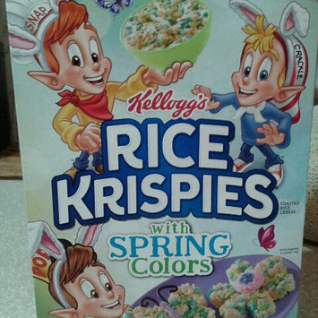 Photo of Kellogg's® Rice Krispies® Cereal uploaded by Michelle L.