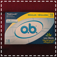 o.b. Pro Comfort Tampons, Regular, 18 ea uploaded by Marisol P.