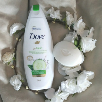 Photo of Dove Go Fresh Cool Moisture Body Wash uploaded by Esther L.