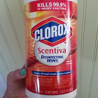 Colorox Sales CLO31632EA Clorox Scentiva Disinfecting Wipes - Hawaiian Sunshine uploaded by Crystal S.