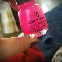 China Glaze Neon Nail Laquer with Hardeners uploaded by Jenice S.