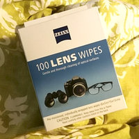 Zeiss Lens Cleaning Wipes 100 Count Pre-moistened Wipes uploaded by Megan M.