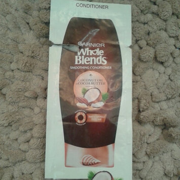 Photo of Garnier Whole Blends Coconut Oil & Cocoa Butter Extracts Smoothing Conditioner uploaded by Michelle L.