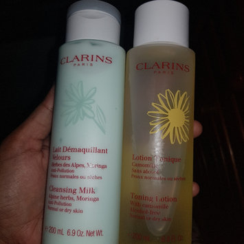 Photo of Clarins Cleansing Milk With Alpine Herbs For Normal Or Dry Skin uploaded by rachel h.