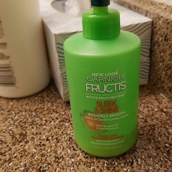 Photo of Garnier Fructis Sleek & Shine Intensely Smooth Leave-In Conditioning Cream uploaded by Melissa Z.