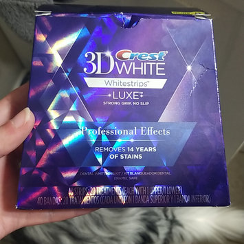 Photo of Crest 3D White Luxe Professional Effects Whitestrips Teeth Whitening Kit uploaded by Elizabeth G.