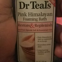 Dr Teal's® Restore & Replenish Pure Epsom Salt & Essential Oils Pink Himalayan Mineral Soak uploaded by Toni Marie D.