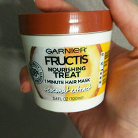 Garnier Fructis Nourishing Treat 1 Minute Hair Mask + Coconut Extract uploaded by Angie R.