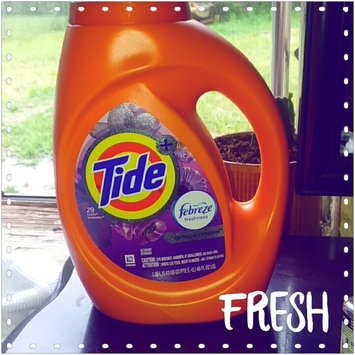 Photo of Tide Plus Febreze Freshness Liquid Laundry Detergent uploaded by Lakeshia R.
