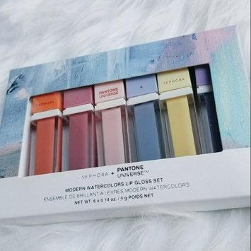 Photo of SEPHORA+PANTONE UNIVERSE Modern Watercolors Lip Gloss Set uploaded by kari s.