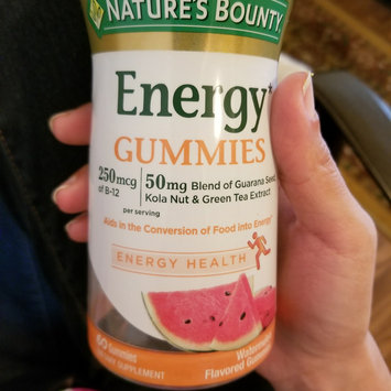 Photo of Nature's Bounty® Energy Gummies uploaded by naf C.