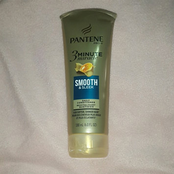 Photo of Pantene 3 Minute Miracle Smooth & Sleek Deep Conditioner uploaded by Sanihe R.