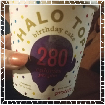 Photo of Halo Top Birthday Cake Ice Cream uploaded by Christina M.