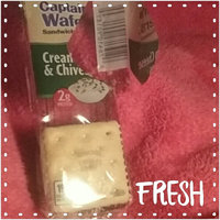 Lance Fresh Cream Cheese & Chives Captain's Wafers Crackers 8 Pack uploaded by Kristin K.