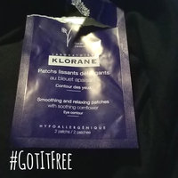Klorane Smoothing and Relaxing Patches with Cornflower uploaded by Tracie C.