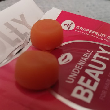 Photo of Olly Undeniable Beauty Grapefruit Glam Vitamin Gummies uploaded by Olynsie M.