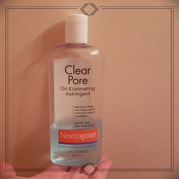 Photo of Neutrogena® Clear Pore Oil-Eliminating Astringent uploaded by Bethany S.