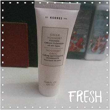 Photo of KORRES Greek Yoghurt Foaming Cream Cleanser uploaded by Jasmin B.
