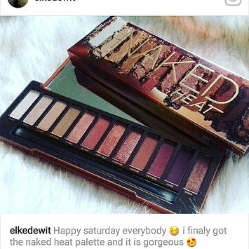 Photo of Urban Decay Naked Heat Eyeshadow Palette uploaded by Elke D.