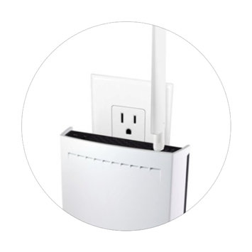 Photo of Amped Wireless High Power AC1750 Plug-In Wi-Fi Range Extender uploaded by Rachid L.