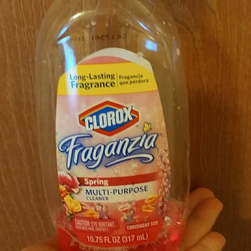 Photo of Clorox Fraganzia Multi-Purpose Cleaner Spring 40 oz uploaded by Catherine I.