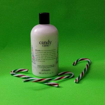 Photo of philosophy Candy Cane Shampoo, Shower Gel & Bubble Bath 16 oz/ 480 mL uploaded by D M.