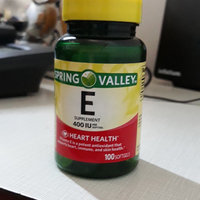 Spring Valley Vitamin E 400 I.U. Water Soluble Softgels Dietary Supplement 250 ct uploaded by Claudia v.
