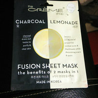 the CRÈME shop Charcoal & Lemon Fusion Sheet Mask uploaded by Kaitlyn W.