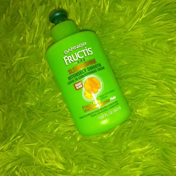 Photo of Garnier Fructis Sleek & Shine Intensely Smooth Leave-In Conditioning Cream uploaded by Kimberly P.