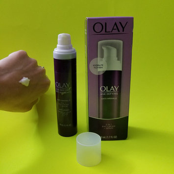 Photo of Olay Age Defying 2-In-1 Anti-Wrinkle Day Cream + Serum 1.7 Fl Oz uploaded by D M.