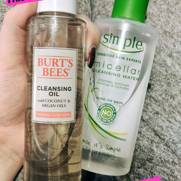 Photo of Simple® Micellar Water Cleanser uploaded by Neisha L.