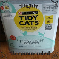 Tidy Cats Lightweight Free And Clean™ Unscented Cat Litter uploaded by Brittany B.