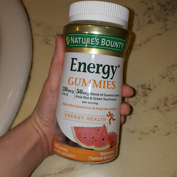 Photo of Nature's Bounty® Energy Gummies uploaded by ana w.