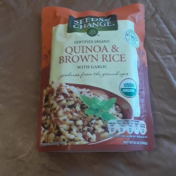 Photo of Seeds of Change Organic Quinoa and Brown Rice, 8.5 Ounce, 6 Count uploaded by Shannon C.