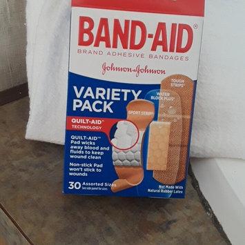 Photo of Band-Aid Adhesive Bandages Sheer Strips Extra Large - 10 CT uploaded by Jennifer T.