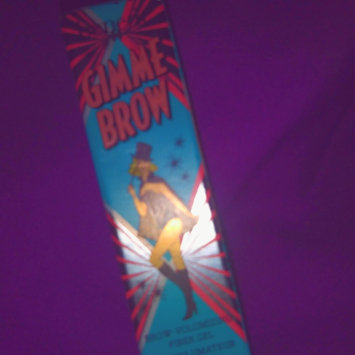 Photo of Benefit Cosmetics Gimme Brow Volumizing Eyebrow Gel uploaded by kay k.