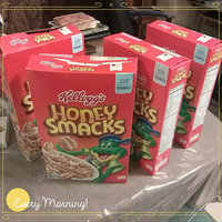 Kellogg's Honey Smacks Sweeted Puffed Wheat Cereal uploaded by Carmen R.