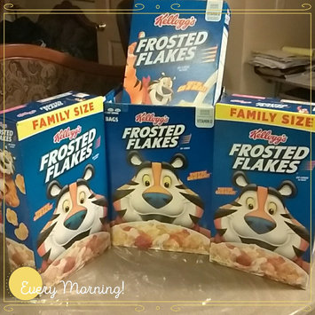 Photo of Kellogg's Frosted Flakes Cereal uploaded by Carmen R.