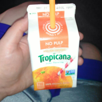 Photo of Tropicana® No Pulp 100% Pure Florida Orange Juice uploaded by Felicia J.