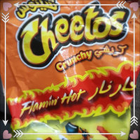 CHEETOS® Crunchy Flamin' Hot® Cheese Flavored Snacks uploaded by Maryam A.