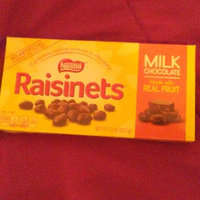 Nestlé Raisinets California Raisins and Milk Chocolate uploaded by D'sherlna R.