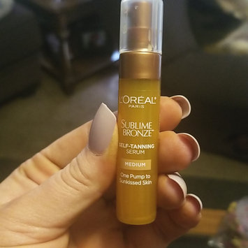 Photo of L'Oréal Paris Sublime Bronze Self-Tanning Serum uploaded by Ashley F.