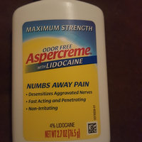 Aspercreme with Lidocaine Pain Relieving Creme Maximum Strength uploaded by Sierra M.